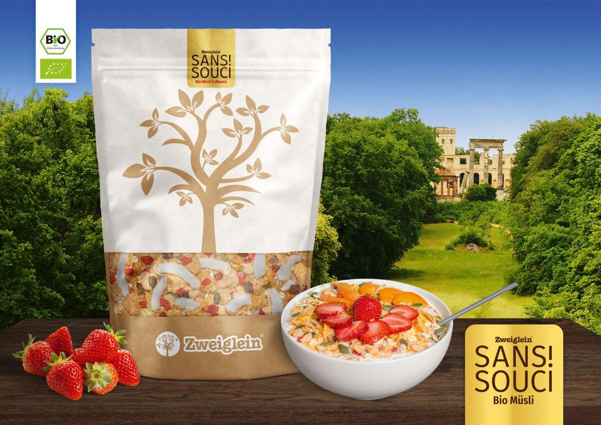 Zweiglein Sanssouci! Bio Müsli - Produktübersicht